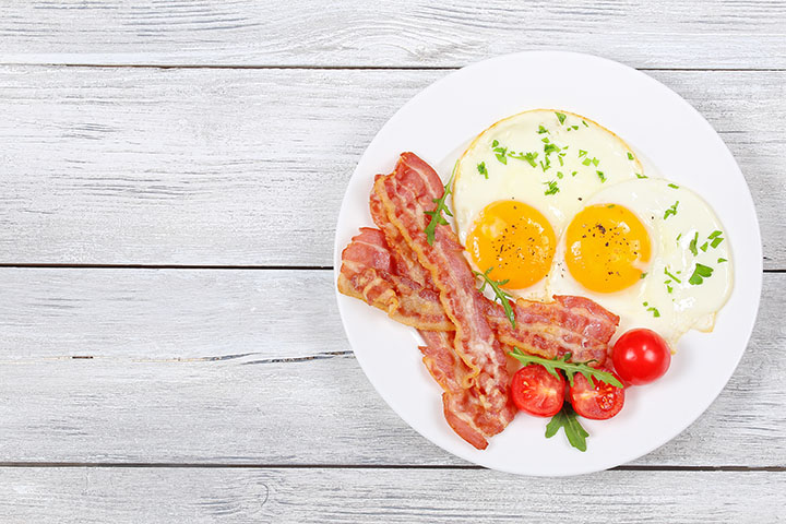 low carb bacon and egg recipes