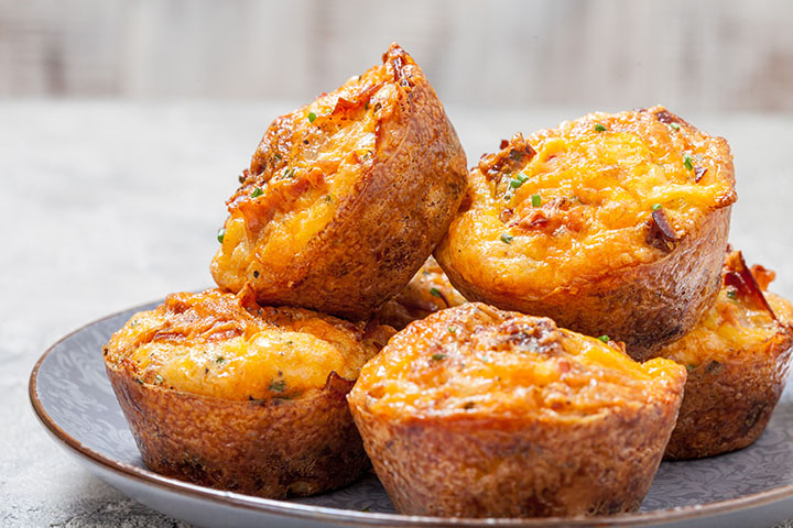 low carb breakfast muffins with sausage