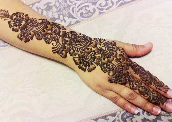 Latest and stylish floral mehndi designs for hands mehandi thecheapjerseys Image collections