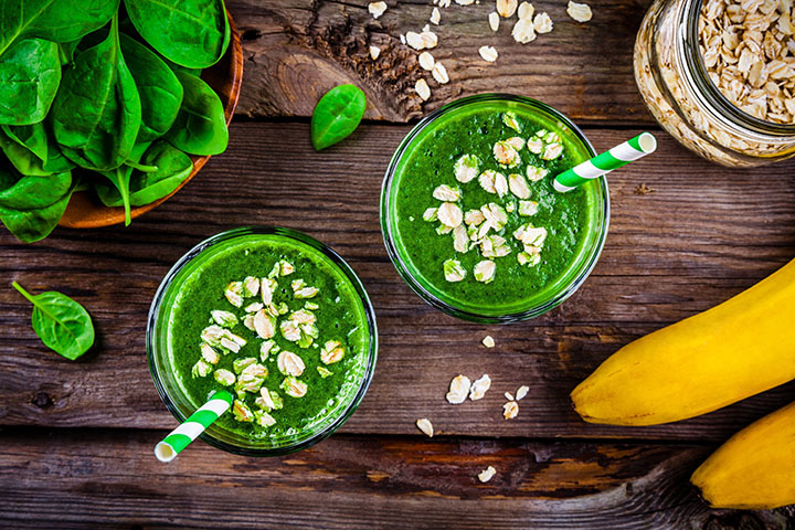 oats and spinach smoothie for weight loss