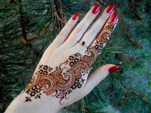 Mehndi Hand With Eye : Latest and beautiful ramzan special mehndi designs