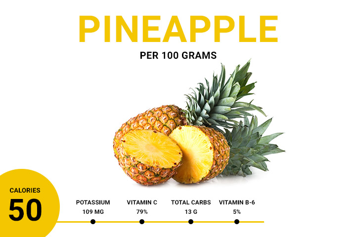 pineapple calories