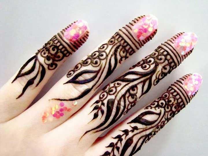 pretty-finger-mehndi-design