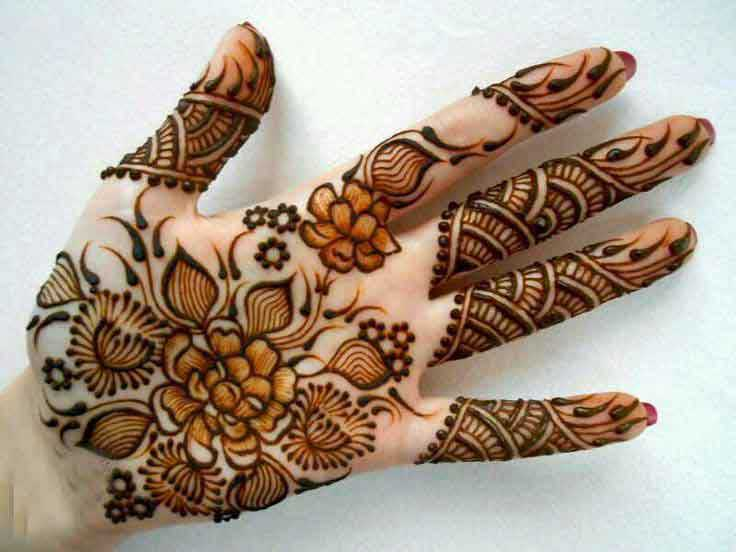 Traditional Mehndi Designs For Hands : Most popular traditional mehndi designs for hands