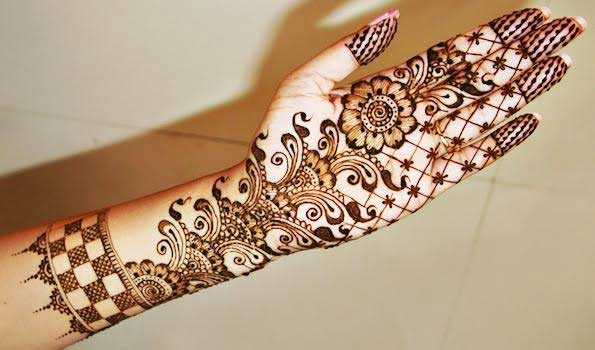 Latest Flower Mehndi Design : Latest and stylish floral mehndi designs for hands