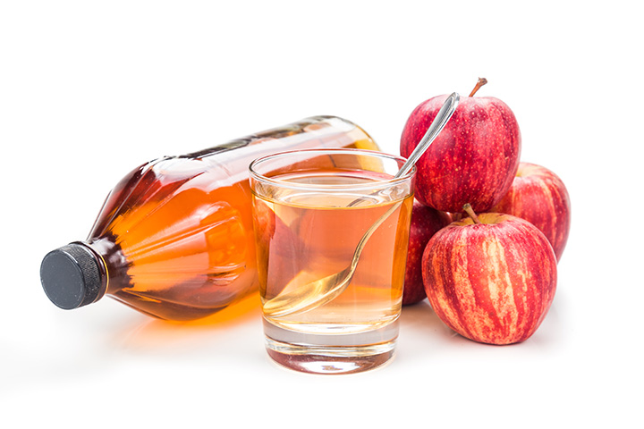 apple cider vinegar and warm water for belly fat