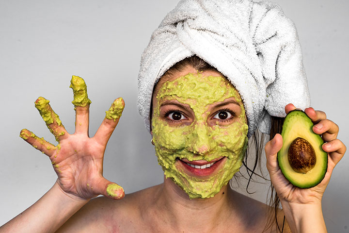 avocado face mask for acne