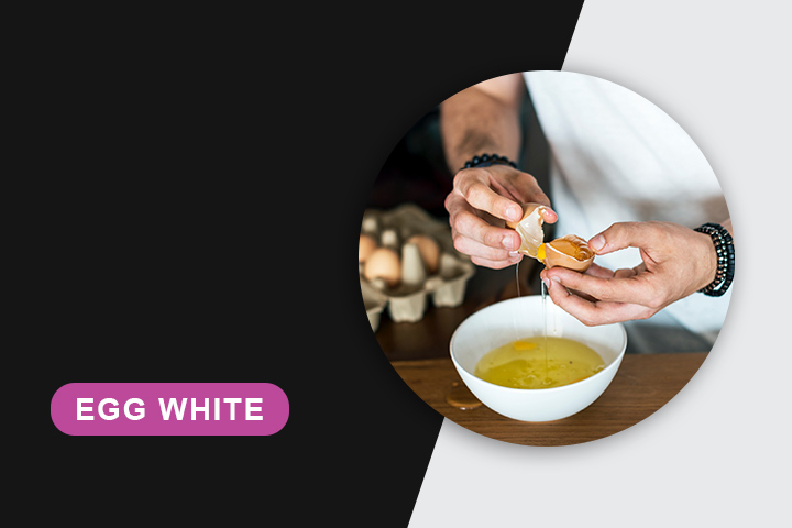 egg white mask for skin tightening
