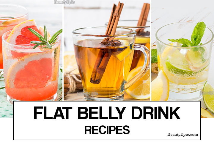 7 Healthy Homemade Drinks for Flat Tummy
