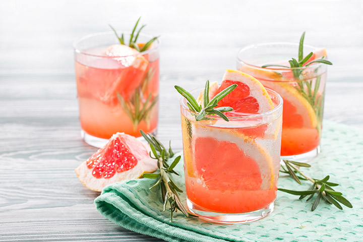 grapefruit and rosemary for belly fat