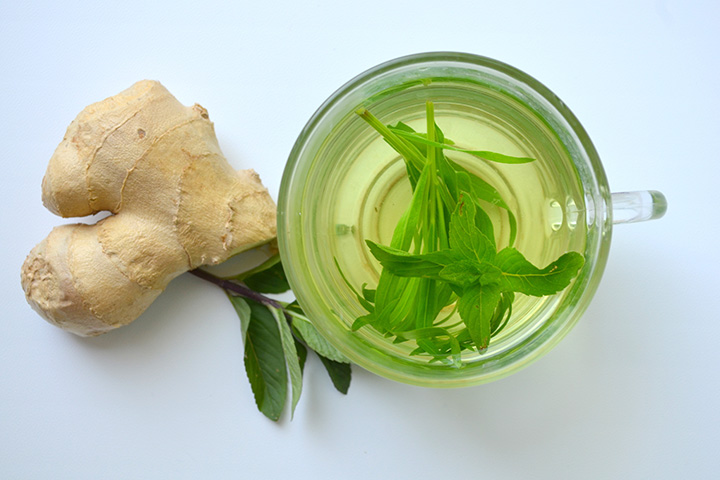 green tea with ginger for belly fat