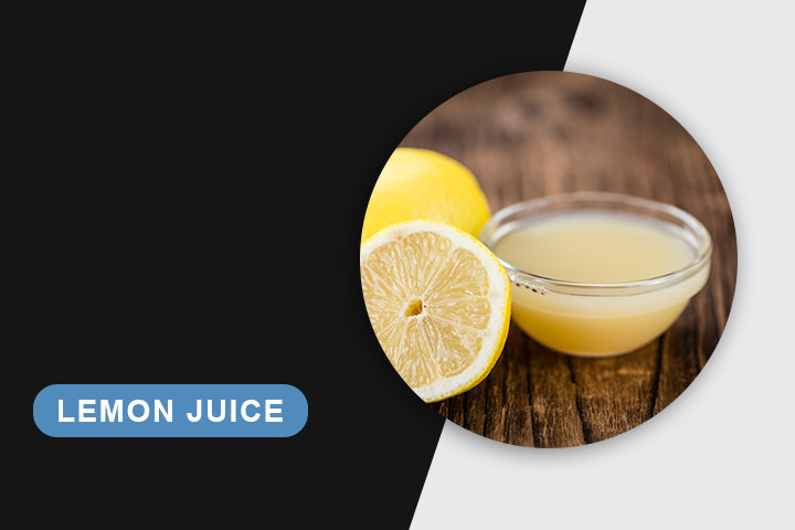 lemon juice for skin tightening