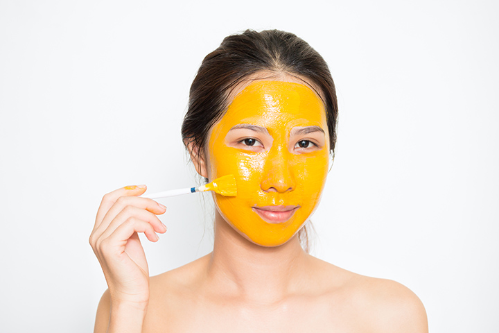 turmeric mask for acne