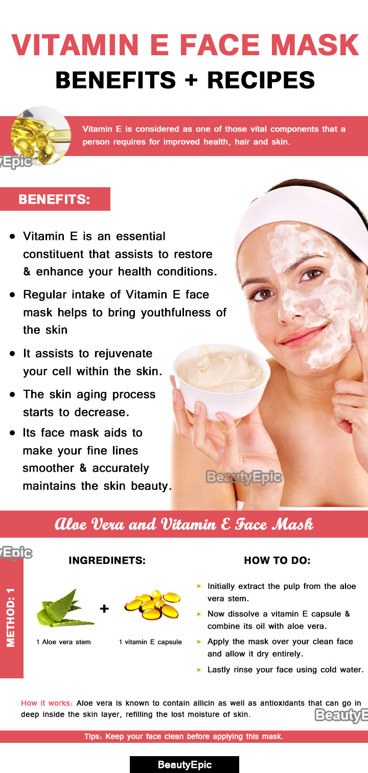 vitamin e face mask