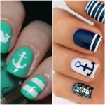 26 Cute Anchor Nail Art Designs