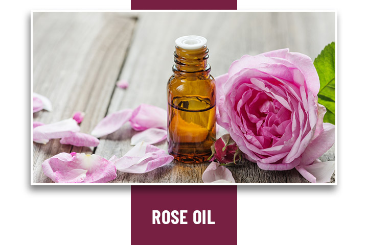 Rose Oil for headache