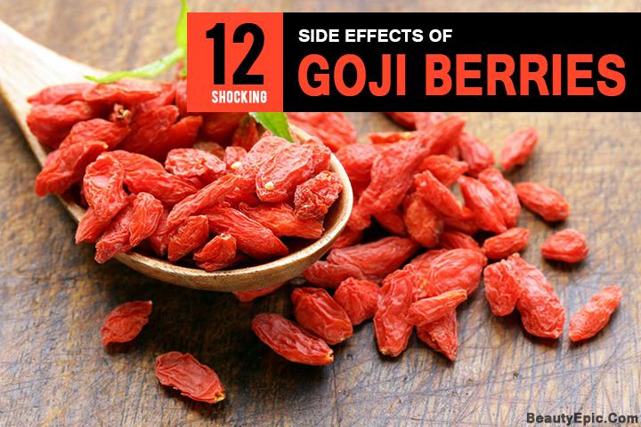 goji berry overdose