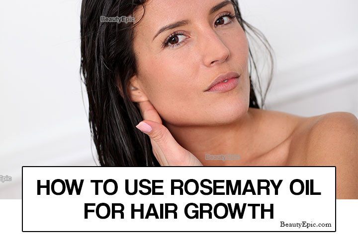 How to Use Rosemary oil for Hair Growth?