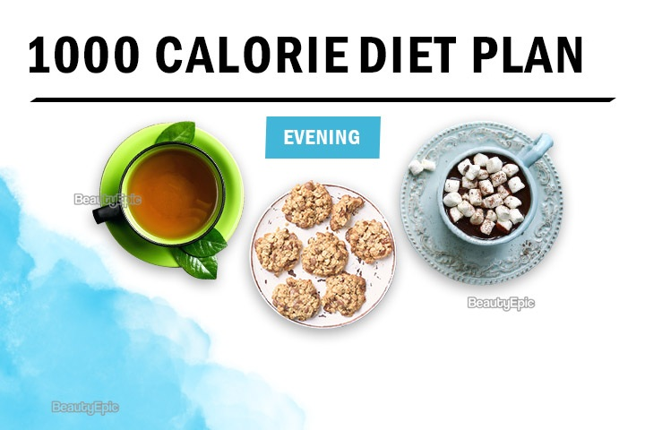 1000 calorie evening snacks