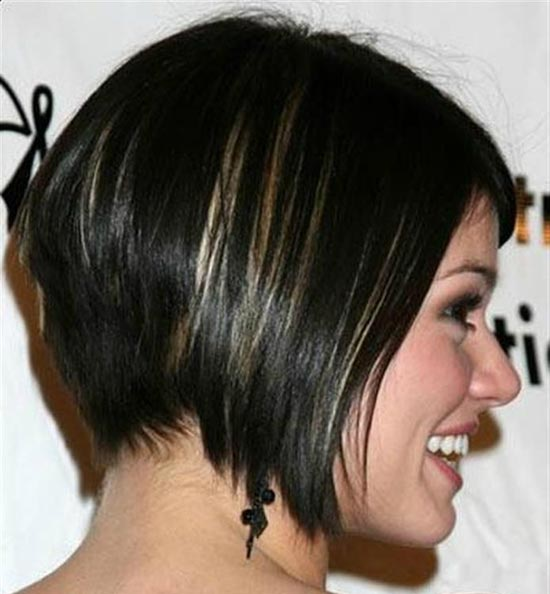 Alison-Lohman Inverted Bob Haircuts