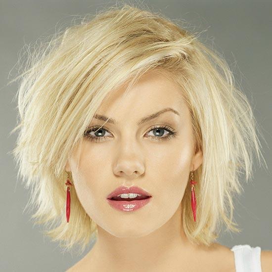 Alison Lohman Messy Bob Hairstyles
