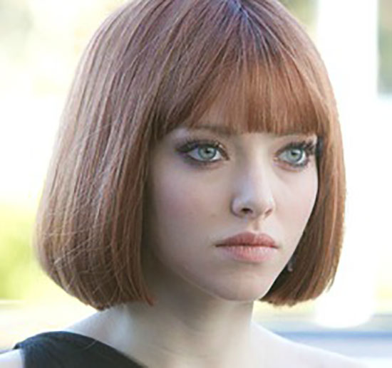 Amanda-Seyfried Bob Haircuts for Fine Hair