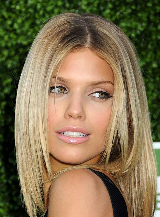 medium length haircuts for thin hair 29 medium length hairstyles for thin hair 4951