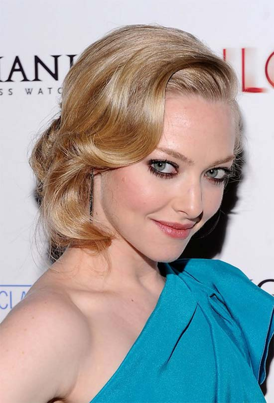 Amanda Seyfried Medium Shag Haircuts
