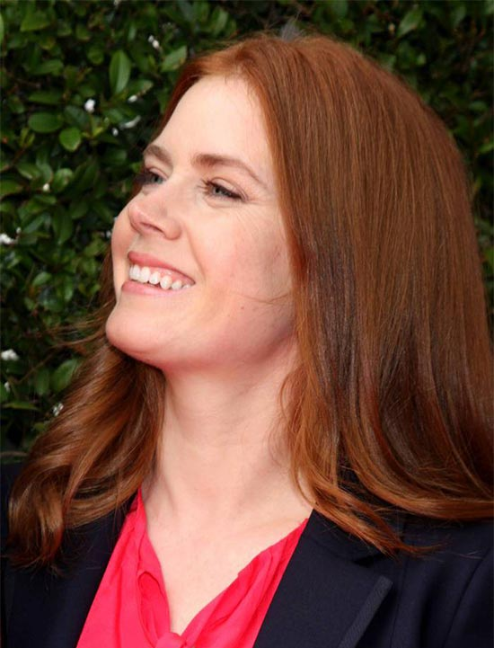 Amy Adams Medium Red Hairstyles