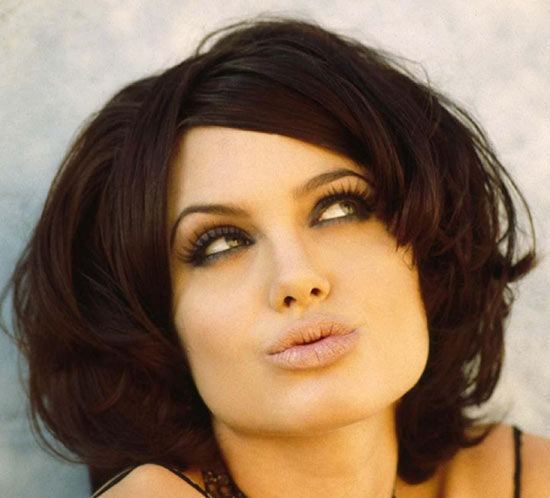 Angelina jolie Medium Bob Hairstyles