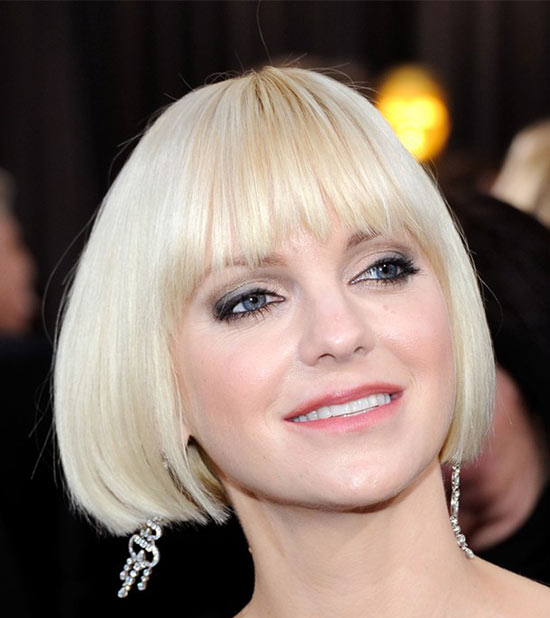 Anna Faris Medium Bob Hairstyles