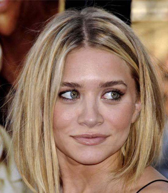 Ashley Olsen Medium Length Hairstyles for Thin Hair