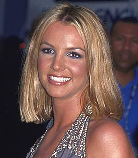 Britney Spears Blunt Bob Hairstyles