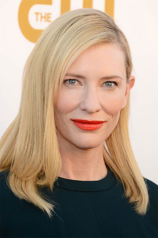 Cate Blanchett Medium Straight Hairstyles