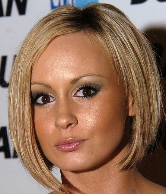 Chanelle Hayes Inverted Bob Haircuts