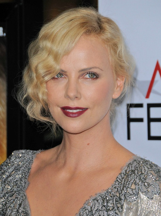 Charlize Theron Retro Waves Hairstyles