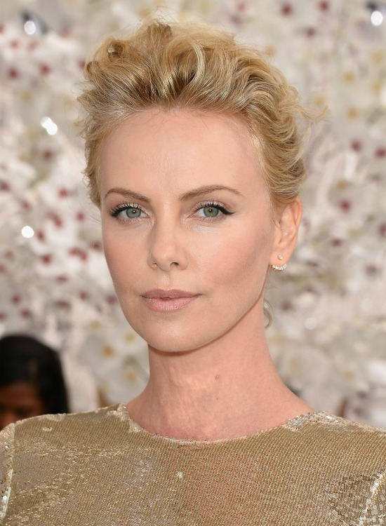 Charlize Theron Short Hair Inspiration bob