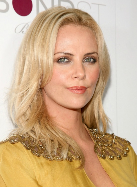 Charlize Theron Shoulder Length Layered Hairstyle