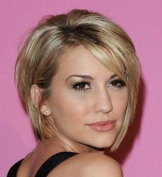 Chelsea Kane Graduated Bob Haircuts