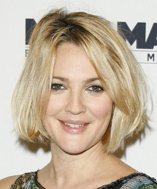 Drew Barrymore Bob Haircuts for Fine Hair