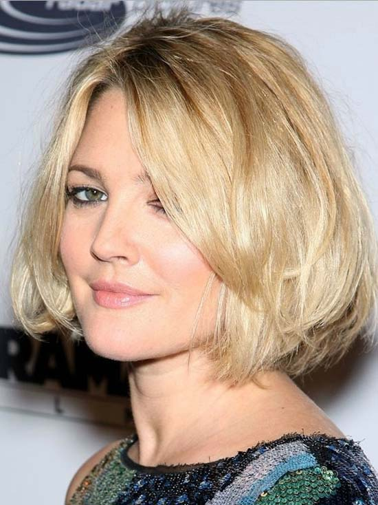 Drew Barrymore Medium Bob Hairstyles