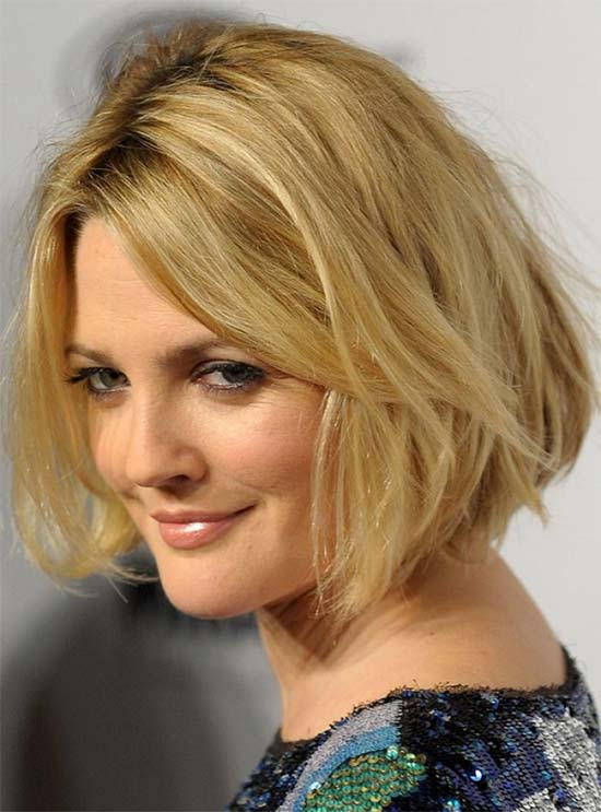 Drew Barrymore Medium Shag Haircuts