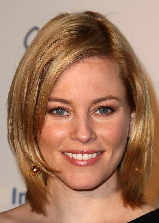 Elizabeth Banks Medium Bob Hairstyles
