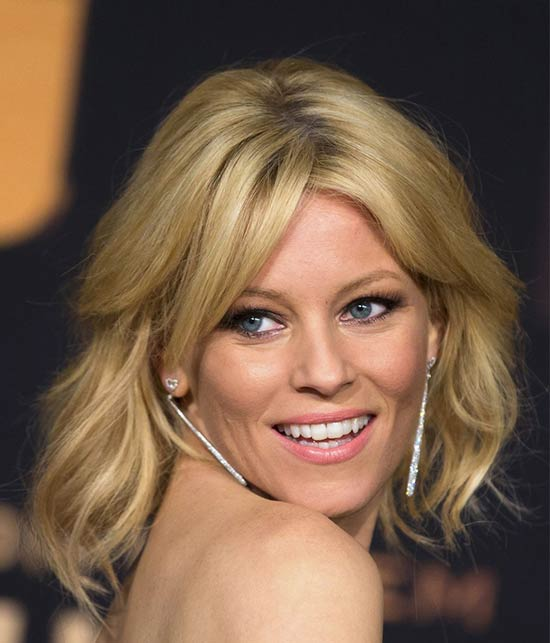 Elizabeth Banks Medium Shag Haircuts