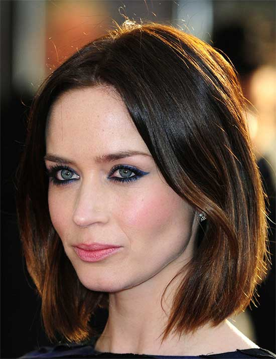 Emily Blunt Medium Hairstyles for Women