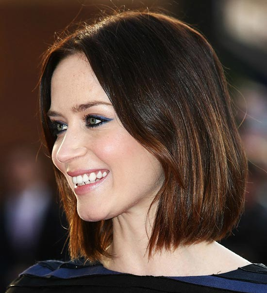 Emily blunt Blunt Bob Hairstyles