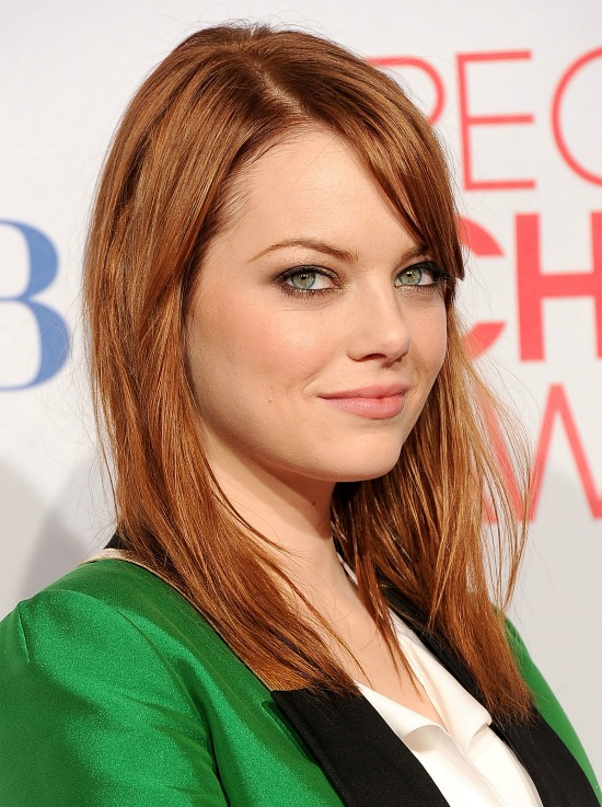 Emma Stone Medium Straight Hair