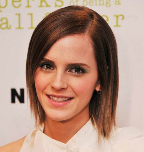 Emma Watson Bob Haircuts for Fine Hair