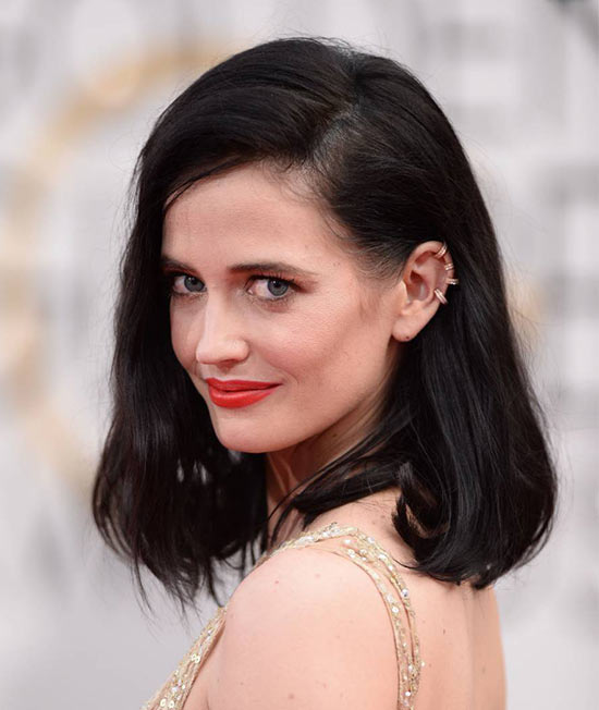 Eva-Green Medium Bob Hairstyles