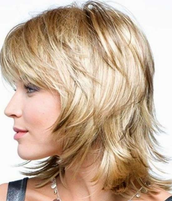 Eva Green Medium Layered Haircuts